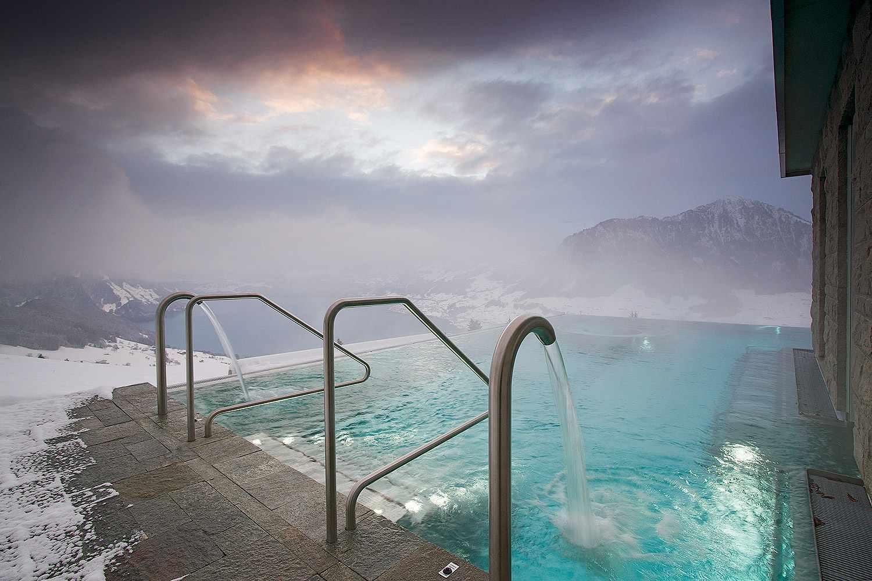 Hotel Villa Honegg Im Winter